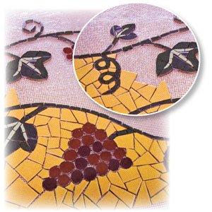 Mosaic Mesh - Roll by Delphi Glass