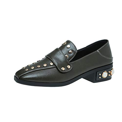 SDC05530 Walking Shoes Urethane Beaded Green AdeeSu Studded Fashion Womens xZPWF06