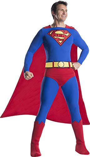 Charades DC Comics Superman Adult Costume, As Shown, Medium