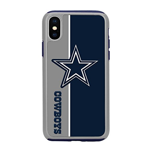 Nfl Dallas Case Cowboys (Forever Collectibles iPhone X Dual Hybrid Bold Case - NFL Dallas Cowboys)