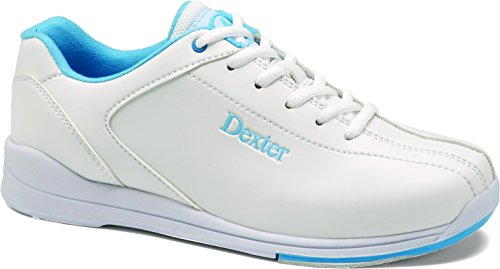 Dexter Women's Raquel IV Wide Bowling Shoes, White/Blue, 10