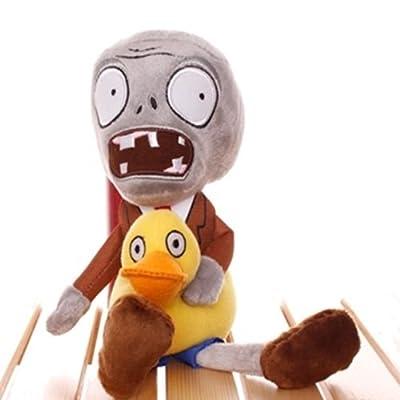 Plants Vs Zombies 2 PVZ Figures Plush Baby Staff Toy Stuffed Soft Doll (Duck Zombie): Baby