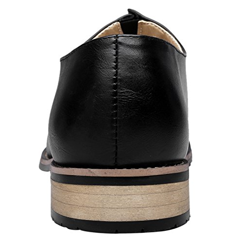 Shoes Classic Pointed Mens Slip Black Leather With For Toe Dress On Business Lining Loafers Modern Santimon 5qBXawU