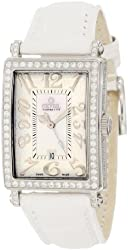 Gevril Women's 7249NV Mini Quartz Avenue of Americas White Diamond Watch