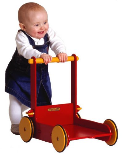 HABA Moover Baby Walker, Red