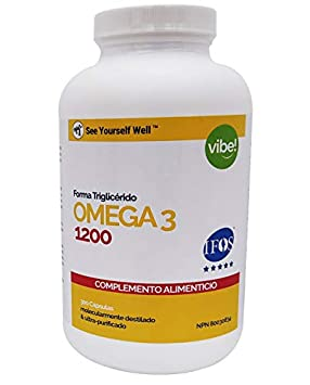 Omega 3 SYW. (300 cápsulas de 1000 mg) Certificado IFOS. Forma ...