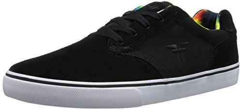 Fallen Men's Slash Skate Shoe, Black/Tie Dye, 8 M US