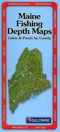 Maine Fishing Depth Maps