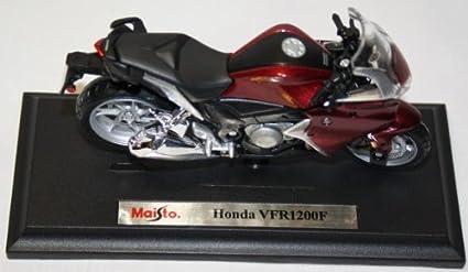 Honda VFR 1200 f año de fabricación 2011 rojo 1:18 de maisto modelo de motocicleta
