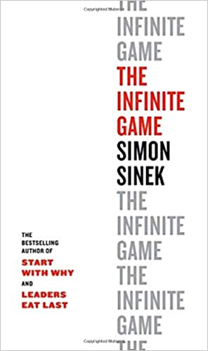 Cover picture of The Infinite Game by Simon Sinek