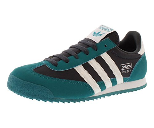 Adidas Dragon Women's Sneakers Size US 9.5, Regular Width, Color Green/Black/White