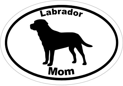 [Labrador Retriever LAB MOM Vinyl Decal sticker - Great for Truck Window, Laptop, Car Bumper or Tumbler - Perfect Labrador Retriever Dog Mother Pet Owner Gift MADE IN THE] (Shock Treatment Costumes)