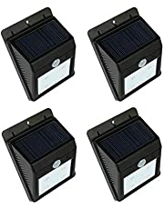 Solar motion light,one set of 4 pcs,night sensor light