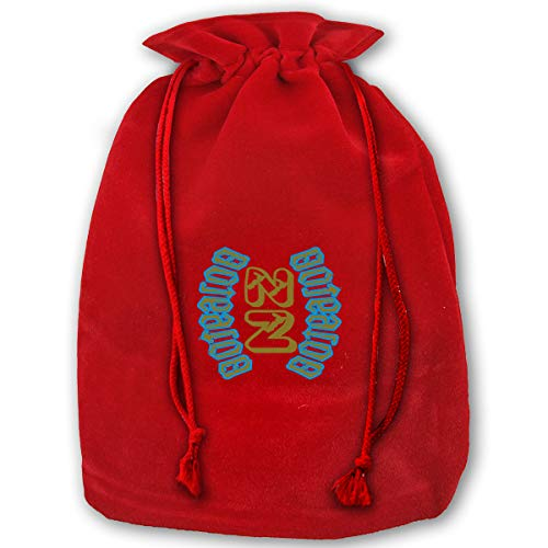 VAbBUQBWUQ NZ Maoriland Aotearoa Santa Clause Bags Drawstring Bag Candy Bag for Children Holiday Wrapping Goodie Bags Party Favors]()