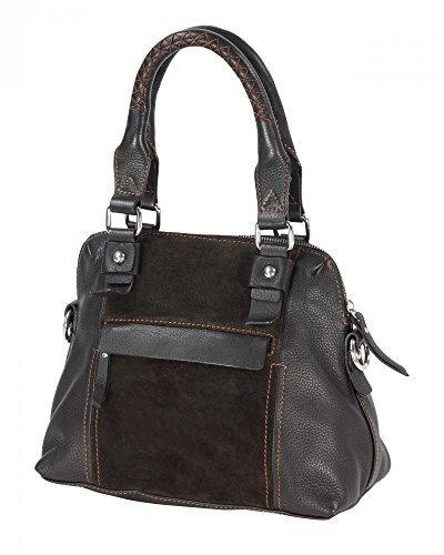 Cuir véritable sac à main femme 30 x 23 x 15 cm