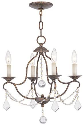 Livex Lighting 6424-71 Chesterfield Mini Chandelier