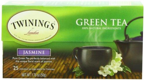 Twinings Green Tea with Jasmine, 25 Count
