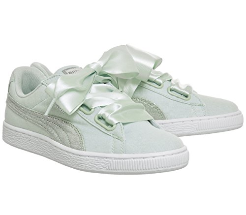 Blue Canvas Puma Flower Heart Chaussures qZwpWxfvt