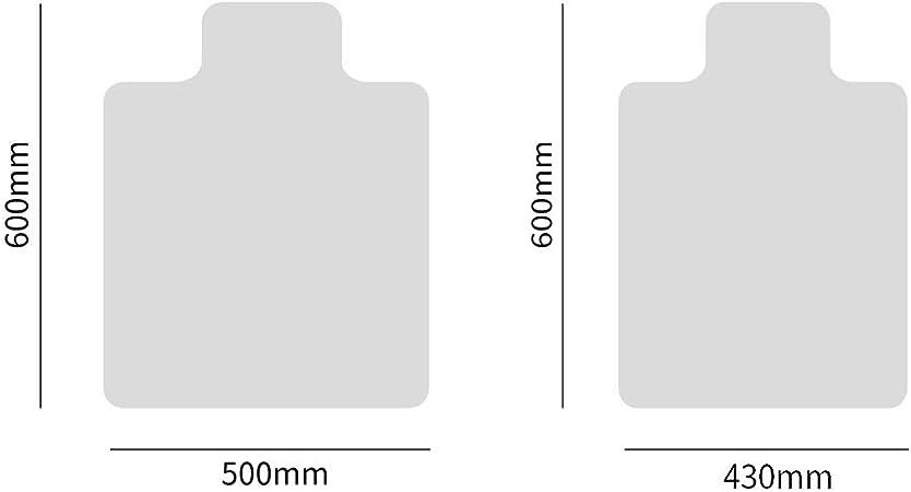 430x600x1.5MM BGY Floor Mat Anti Scratch Home Protector Rectangle Non Slip Transparent Carpet Moistureproof lling Chair Computer Desk Wear Resistant PVC Office