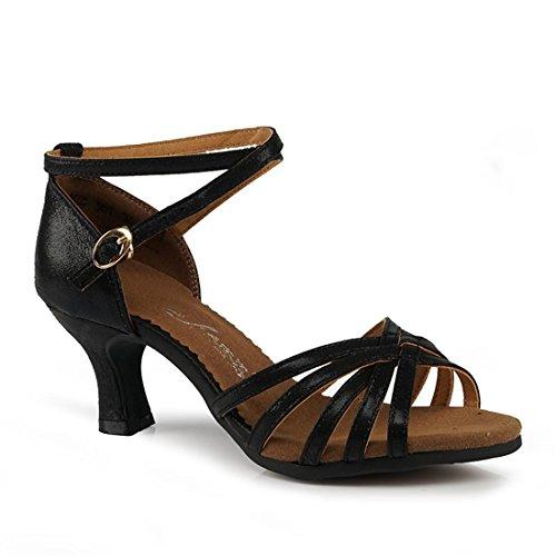 Mujer Exterior Zapatos 5cm de Aire Baile Baile Latino Baile Fondo Baile Al Zapatos Blando Negro Principiante WXMDDN 5 Libre 5 de de Zapatos de Adult Black Práctica de Zapatos 5cm BxwqUdpC
