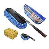 RUIX Car Wash Brush Retractable/Dusting Mop/Car Cleaning Tool