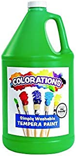 product image for Colorations - GWSTGR Washable Tempera Paint, Gallon, Green, Non Toxic, Vibrant, Bold, Kids Paint, Craft, Hobby, Fun, Art Supplies