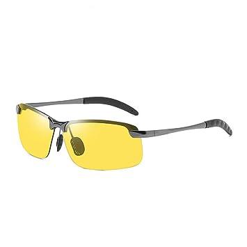 CCGSDJ Gafas De Sol Fotocromáticas para Hombres Decoloración ...