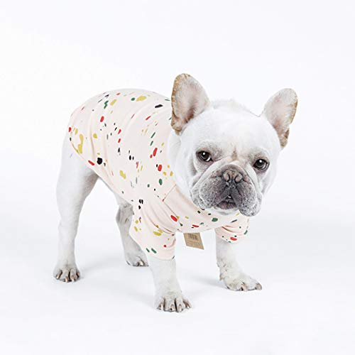 Petea Pet Dog Clothes Cute Dog Cat T-Shirt Puppy Summer Apparel for Small Dogs and Cats