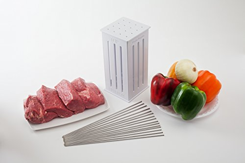 Brochette Express with 16 stainless steel -