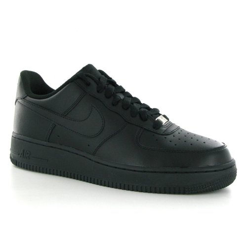 Nike Air Force 1 07 Low All Black Men Lifestyle Casual Sneakers New - 7 (Black 1)