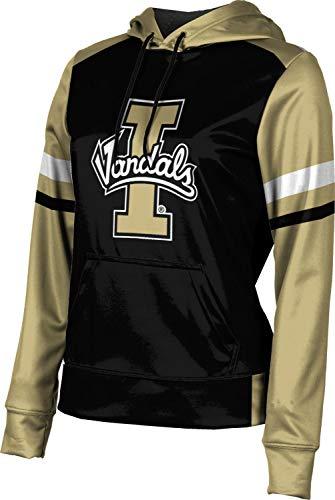 University of Idaho Girls' Pullover Hoodie, School Spirit Sweatshirt (Old School) FF26 ()