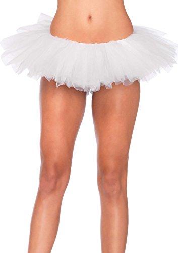 Sexy Tutus (Leg Avenue Women's Organza Tutu, White, One Size)