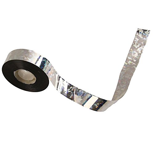 - Haierc Silvery Bird Repellent Tape,Bird Scare Tape,Reflective Tape for Birds,Effective for Woodpeckers Pigeons Grackles-500FTx1