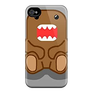 Iphone 4/4s Cases Slim [ultra Fit] Domo Kun Protective Cases Covers