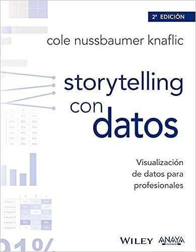Storytelling con datos. Visualización de datos para profesionales