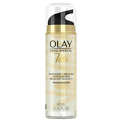 - Face Moisturizer by Olay Total Effects 7 in 1 Moisturizer + Treatment Duo 40 mL