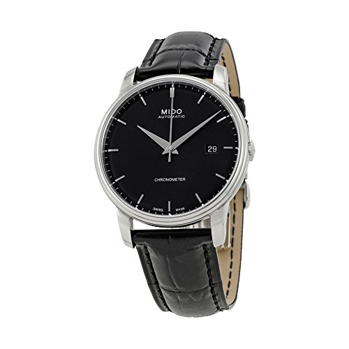 MIDO Men's Automatic Watch Baroncelli III M0104081605120 with Leather Strap