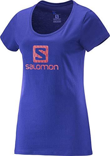 Camiseta Feminina Logo Phlox S10522 Roxo - Salomon - G