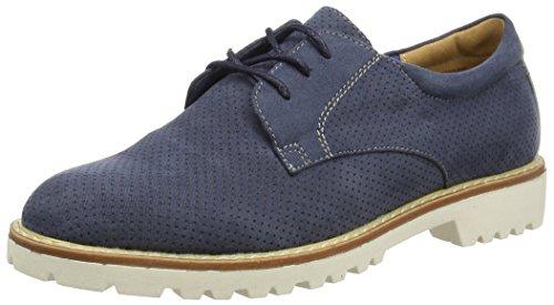 Blu Donna 059 Basse Jeans Blau Stringate Scarpe Jane Oxford Klain 869 232 cwpxqgc78R