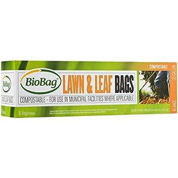 Amazon Com Biobag Premium Compostable Lawn Amp Leaf Yard