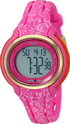 Timex Women's Ironman Sleek 50 Mid-Size Pink One Size