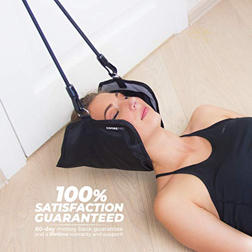 Coobe PRO Hammock for Neck - Portable Hammock for Cervical Traction and Relaxation, Easy to Attach to Any Door or Railing, Ideal for Chronic Neck and Shoulder Pain Relief by Coobe PRO (Image #3)