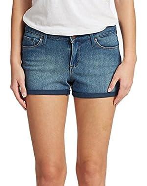 Jessica Simpson Cuffed Denim Shorts