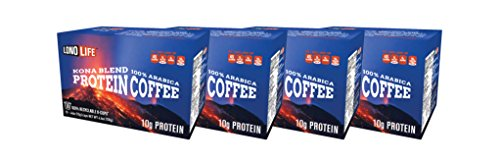 Style Protein (LonoLife Kona Blend Protein Coffee 10g Protein per Serving - For your Keurig Style Brewer, 40 Count)