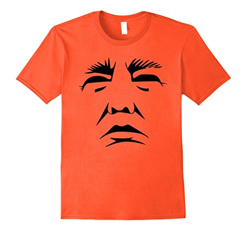 Mens Trump Pumpkin Face Halloween T-shirt