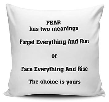 Amazon.com: Miedo significado – cara todo y Rise novedad ...