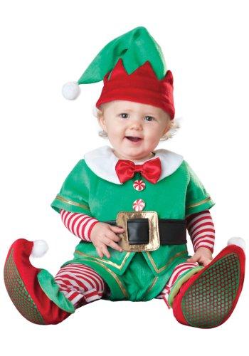 Santa's Lil' Elf Baby Infant Costume - Infant ()