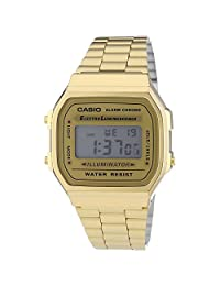 Casio Classic Digital Watch, Color: Gold, Size: One Size [Watch]