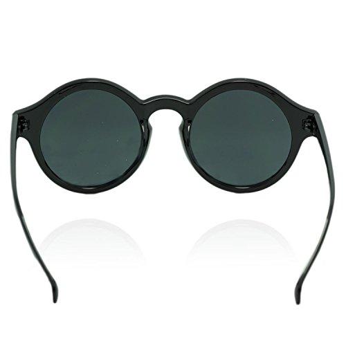 iP Redondas Gafas De Sol Mujer negro iB 1gwxdBqn