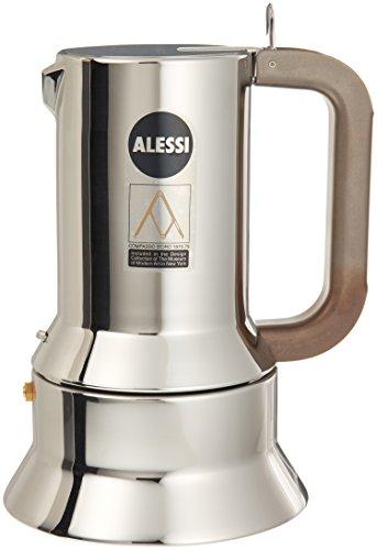 Alessi 9090/M Espresso Coffee Maker, Silver